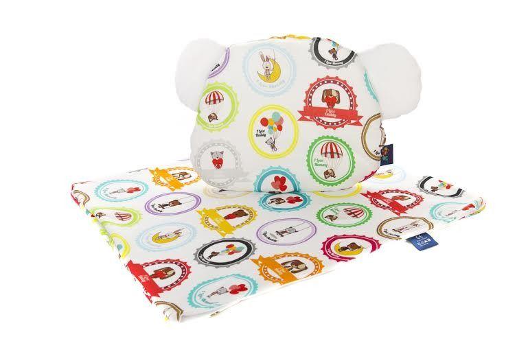 Cuddly Zoo Soft Touch Kocyk I Poduszka Kocham Mamę