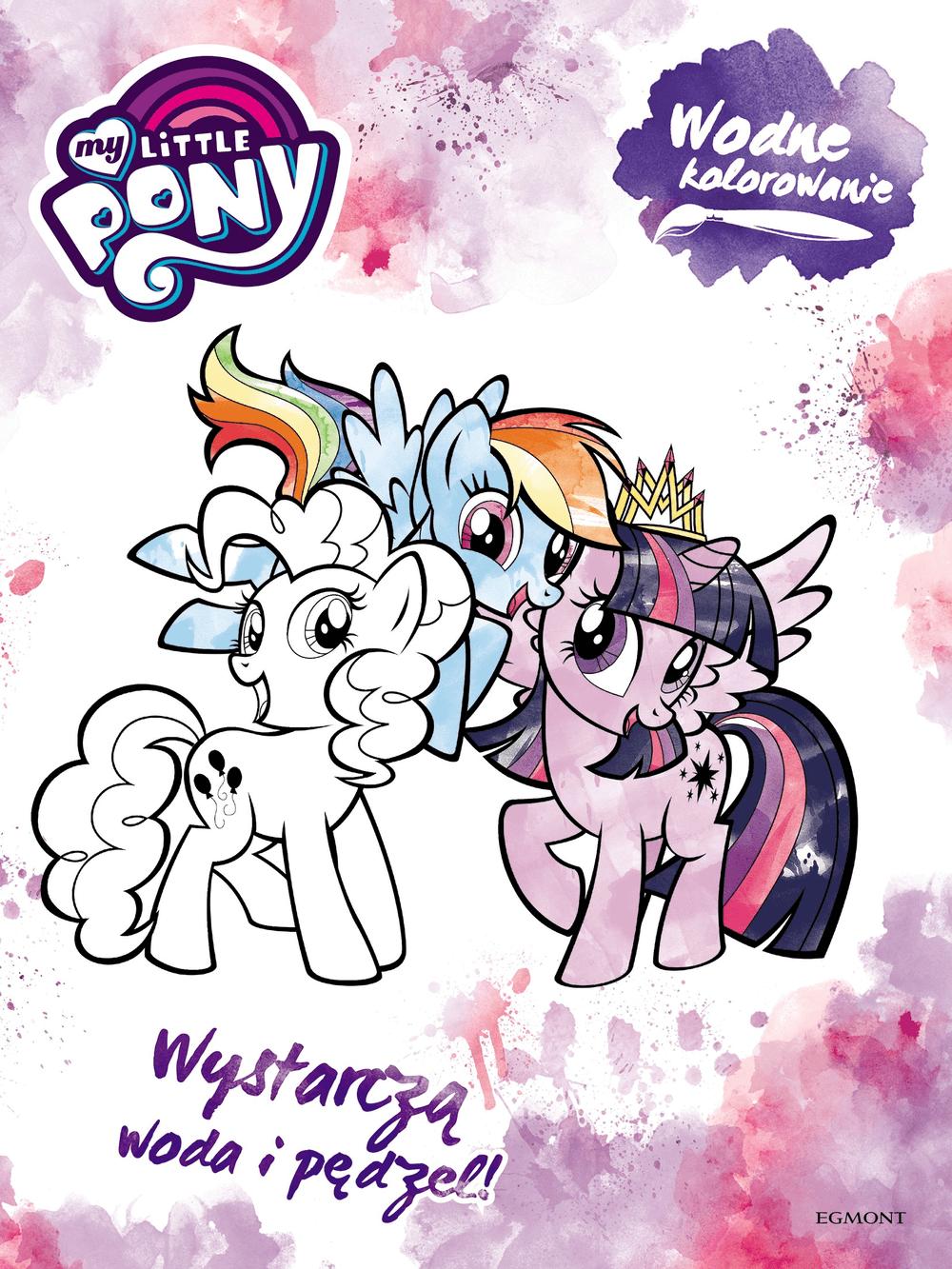 My Little Pony Wodne Kolorowanie Smyk Com