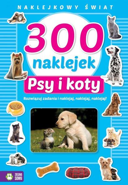 300 Naklejek Psy I Koty
