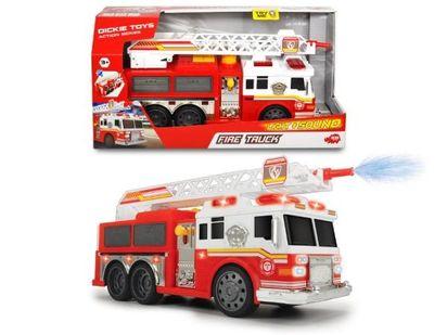 Dickie Straż Pożarna Fire Commander Pojazd światło I