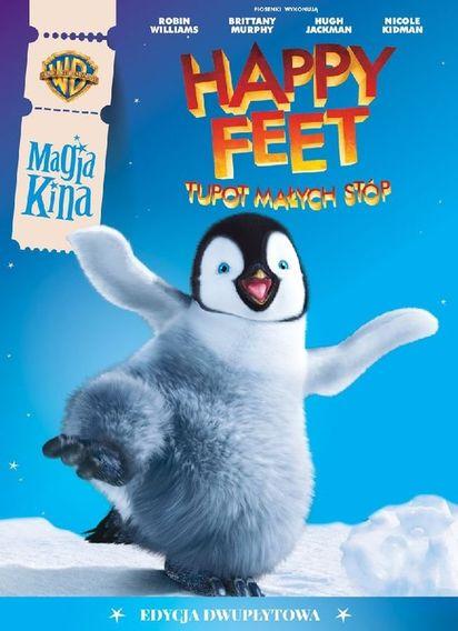 Magia Kina Happy Feet Tupot Małych Stóp 2dvd Smykcom