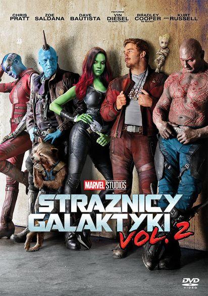 Strażnicy Galaktyki Vol 2 Dvd