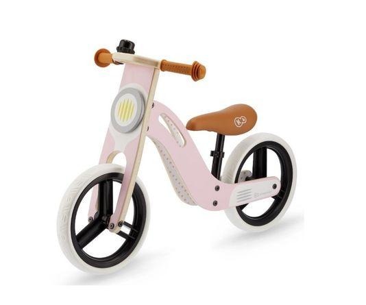 Kinderkraft, Uniq, rowerek biegowy, rozowy