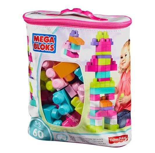 mega bloks torba rozowa