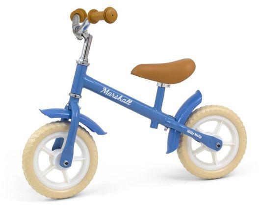 Milly Mally, rowerek biegowy Marshall, niebieski