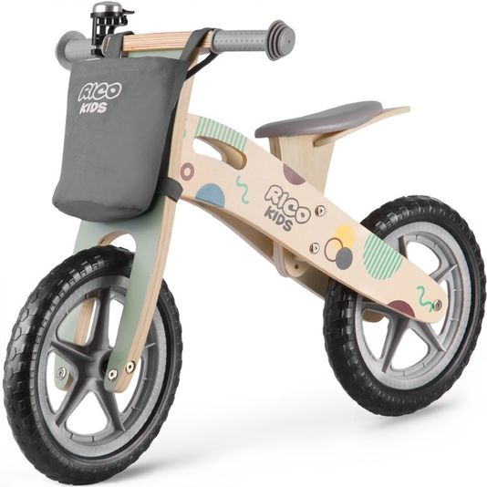Ricokids rowerek biegowy 12 cali drewniany