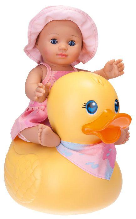 Schildkroet Kids Girl lalka do kapieli z pływajaca kaczka