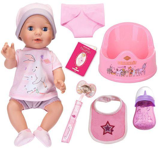 Schildkroet Kids Girl sikajaca lalka z akcesoriami