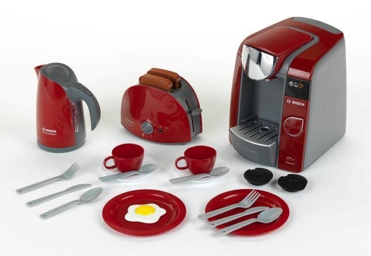 Klein Bosch Agd Deluxe Zestaw Prawdziwy Zestaw Sniadaniowy Smyk Com