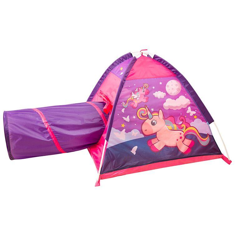 Smiki, Unicorn, namiot z tunelem, 195x112x94 cm